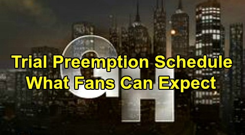General Hospital Spoilers: Trial Preemption Schedule – What GH Fans Can Expect
