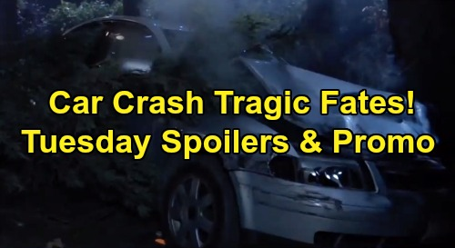 General Hospital Spoilers: Tuesday, December 3 – Lucas, Brad and Kendra Car Crash Fates Revealed – Willow's Pregnancy Test Result