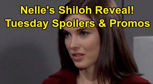 General Hospital Spoilers: Tuesday, January 14 – Nelle's Shiloh Announcement – Chase Stops Showdown – Neil Wants Alexis