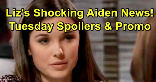 General Hospital Spoilers: Tuesday, January 15 – Liz Gets Startling Aiden Answers – Oscar Death Updates – Anna Awaits Outcome