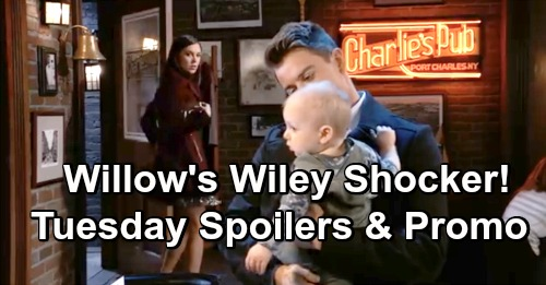 General Hospital Spoilers: Tuesday, January 22 – Oscar and Josslyn in Danger, JaSam to the Rescue – Willow's 'Wiley' Encounter