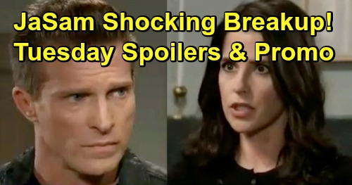 General Hospital Spoilers: Tuesday, January 29 – JaSam's Sudden Breakup – Lulu's Memory Meltdown - Shiloh Reels Kristina Back in
