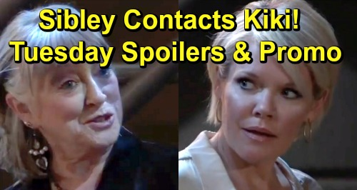 General Hospital Spoilers: Tuesday, July 16 - Lulu Lashes Out at Maxie - Sibley Takes Ava to See Kiki - Peter's Shooting Secret