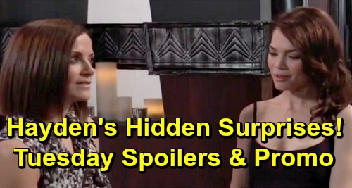 General Hospital Spoilers: Tuesday, July 9 – Kim Wants Drugged Drew in Bed – Ava Attacks Psychic – Hayden's Hidden Surprises