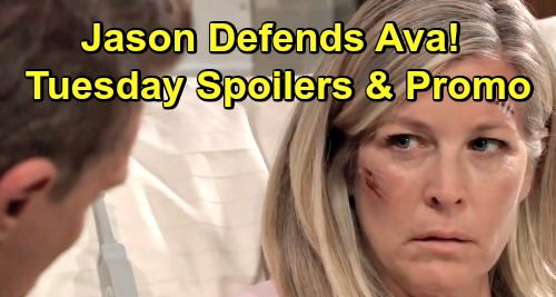 General Hospital Spoilers: Tuesday, March 12 – Jason Defends Ava to Carly – Sonny's Big Meeting - Willow Makes Trouble for Brad