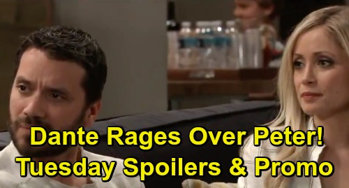 General Hospital Spoilers: Tuesday, March 26 – Jason Arrested, Sam Sides with Shiloh – Dante's Outburst – Peter Rejects Anna