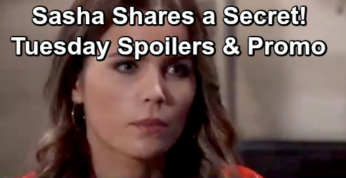 General Hospital Spoilers: Tuesday, May 14 – Sasha Tells Michael a Secret – Nina Adds to Willow's Misery – Robert's Desperate Plan