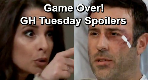 General Hospital Spoilers: Tuesday, May 28 – Sam Tells Shiloh Game Over – Ava Arrested – Kristina's Confession