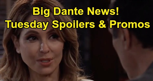 General Hospital Spoilers: Tuesday, November 19 – Dante News for Sonny and Olivia – Verdict Rocks Sam – Brook Lynn Warns Julian