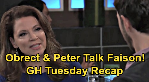 General Hospital Spoilers : Tuesday , March 3 Recap - Valentin Stops Julian Attack - Obrecht Talks Faison With Peter