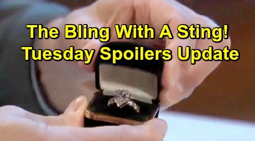 General Hospital Spoilers: Tuesday, February 26 Update – 'Danger Woman' Alexis – JaSam's Desperate Plan – Ryan's Ring Thrills Ava