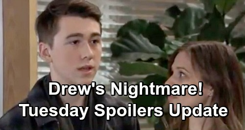 General Hospital Spoilers: Tuesday, January 15 Update – Drew's Nightmare Worries Monica – Willow's Threat – Josslyn's Shocker
