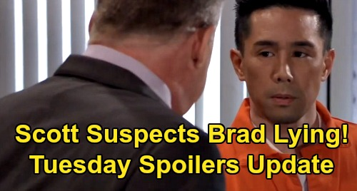 General Hospital Spoilers: Tuesday, March 10 Update – Sonny Underestimates Nelle – Scott Suspects Brad's Lying – Alexis in Panic Mode