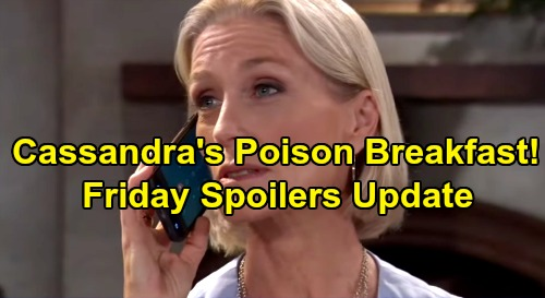 General Hospital Spoilers: Friday, August 2 Update – Drew Heads in Dangerous Shiloh Direction – Michael and Sasha's Trap Set