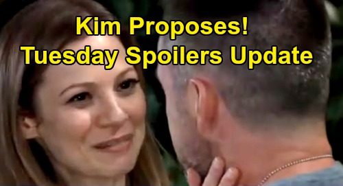General Hospital Spoilers: Tuesday, August 27 Update – Chase Interrogation Brings Sonny's Rage – Kim Proposes – Scott Soaked
