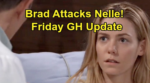 General Hospital Spoilers: Friday, December 20 Update – Maxie's Hot Gift - Raging Brad Attacks Nelle – Liz's Heartbreaking News
