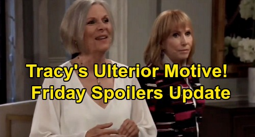 General Hospital Spoilers: Friday, December 27 Update – Tracy's Ulterior Motive – Carly's Startling News – Nelle Infuriates Sam