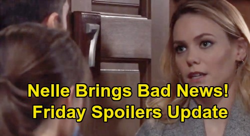 General Hospital Spoilers: Friday, February 14 Update – Helena's Lie Exposed – Nelle's Bad News for Willow – Brad's Doomed Plan