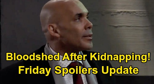 General Hospital Spoilers: Friday, February 28 Update – Bloodshed After Kidnapping Disaster – Jason's Stern Warning – Molly Faces Backlash