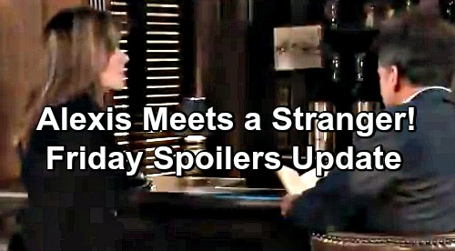 General Hospital Spoilers: Friday, February 8 Update – Alexis Fights With New Hunk - Scott's Murder Case Shocker