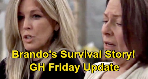 General Hospital Spoilers: Friday, January 31 Update – Liz Slaps Nik Silly - Brando Corbin's Survival Story – Jason Protects Sonny