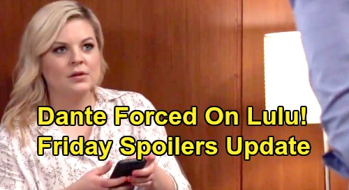 General Hospital Spoilers: Friday, July 12 Update – DNA Test Shocker for Shiloh – Dante Forced On Lulu - Willow's Good News