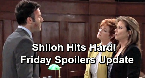 General Hospital Spoilers: Friday, June 21 Update – Sonny Calls in Big Favor - Court Chaos as Shiloh Strikes Hard