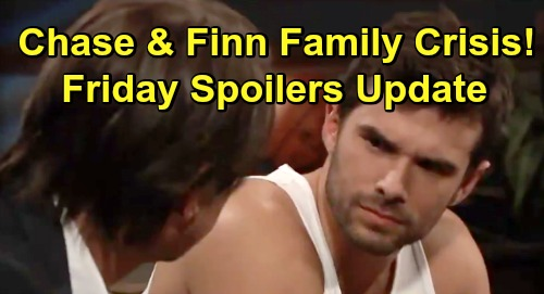 General Hospital Spoilers: Friday, March 15 Update – Fierce Dante Faceoff – Chase and Finn Family Crisis – Kristina Out of Control