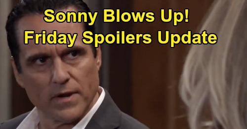 General Hospital Spoilers: Friday, November 22 Update – Carly's Secret Strains Marriage, Sonny Blows Up - Valentin Rattles Hayden