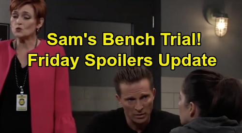 General Hospital Spoilers: Friday, October 25 Update – Franco's Fate Is Sealed - Sam's Speedy Bench Trial – Lulu's Romantic Surprise
