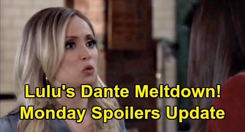 General Hospital Spoilers: Monday, April 13 Update – Lulu's Dante Meltdown – Robert's Terrible News - Peter's Big Lie