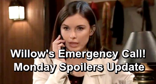 General Hospital Spoilers: Monday, April 15 Update – Willow's Emergency Call - Jason's Plan Hits a Snag – Cam Fights For Little Bro