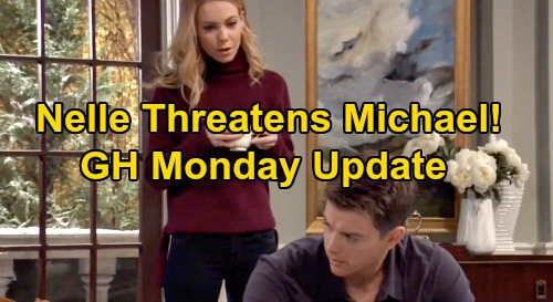 General Hospital Spoilers: Monday, February 17 Update – Charlotte's Future Decided - Nelle Threatens Michael – Brando Investigates