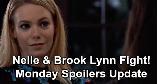 General Hospital Spoilers: Monday, February 3 Update – Brando's Reasons for Coming to PC – Nelle & Brook Lynn Showdown - Dev Panics