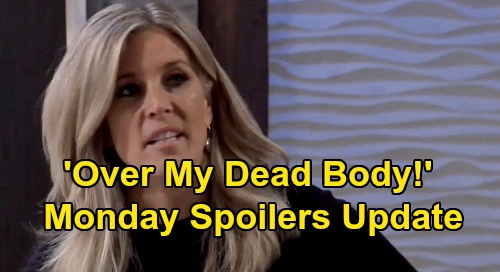 General Hospital Spoilers: Monday, January 20 Update – Michael Blasts Brad - Carly Moves Against Nelle - Nikolas Faces Spencer