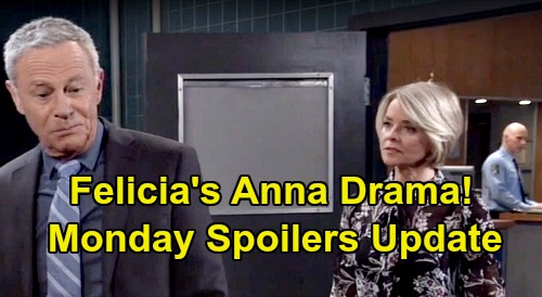 General Hospital Spoilers: Monday, October 21 Update – Liz Praises Motherly Hayden - Felicia's Anna Drama - Nelle Panics Brad