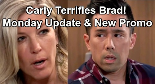General Hospital Spoilers: Monday, June 24 Update – New Promo - Willow's Losing To Shiloh – Carly Terrifies Brad