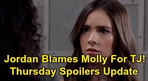 General Hospital Spoilers: Thursday, April 2 Update – Ava Tackles Train Wreck Trina - Jordan Blames Molly - Jason Confesses to Sam
