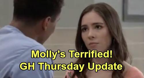 General Hospital Spoilers: Thursday, April 23 Update – Kristina & Sam Spar with Brando, Molly Terrified – Cyrus' Next Move