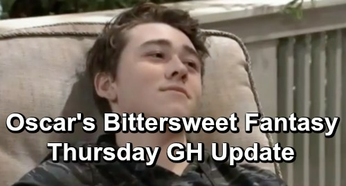 General Hospital Spoilers: Thursday, April 25 Update – Lulu to the Rescue – Oscar's Bittersweet Fantasy – Baby Alarm Bells for Carly
