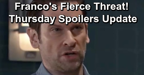 General Hospital Spoilers: Thursday, February 7 Update – Franco's Fierce Threat – Oscar Learns The Truth - Josslyn's News