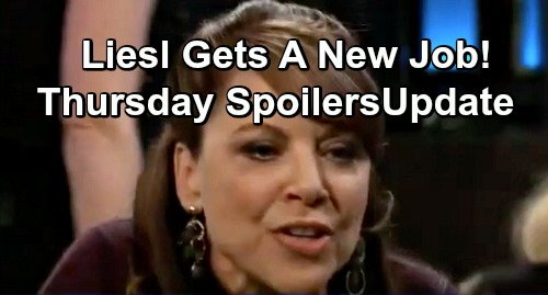 General Hospital Spoilers: Thursday, January 31 Update – Liesl Scores Surprising New Job – Maxie's Next Step To Love