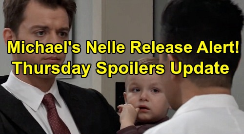 General Hospital Spoilers: Thursday, January 9 Update – Michael Upset Over Nelle – Mike's Last Chance - JaSam Deal With Robert