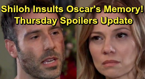 General Hospital Spoilers: Thursday, July 11 Update – Shiloh Insults Oscar's Memory – Chase Confesses to Willow