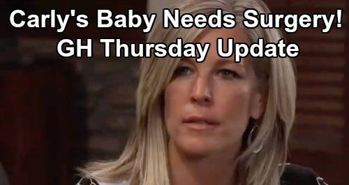 General Hospital Spoilers: Thursday, July 25 Update – Mystery Man Spotted with Cassandra – Carly's Baby Needs Surgery