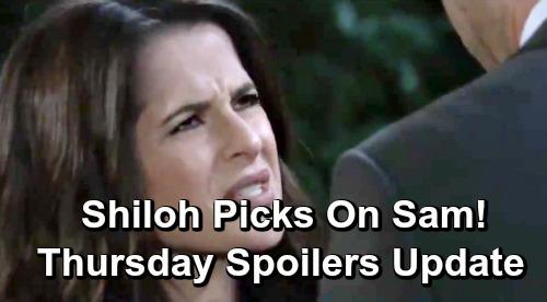 General Hospital Spoilers: Thursday, June 27 Update – Kim's Dangerous Decision – Shiloh Taunts Sam – Jason's Surprising Rescue