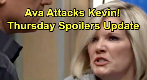 General Hospital Spoilers: Thursday, March 14 Update – Ava Attacks Kevin – Drew and Kim Against Shiloh – Kristina Cuts Off Family