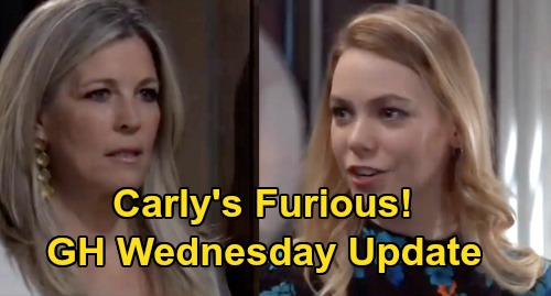 General Hospital Spoilers: Wednesday, March 25 Update – Nelle News Enrages Carly – Portia Attacks Ava – Jordan's Awful Decision
