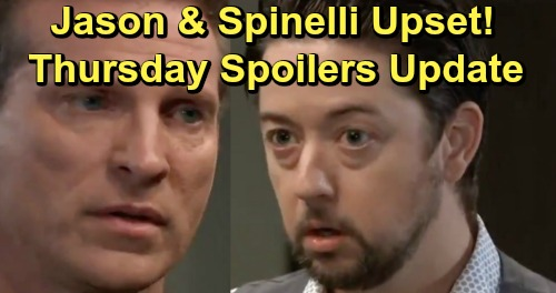 General Hospital Spoilers: Thursday, May 16 Update – Laura's Trapped – Molly Uses Peter Against Shiloh – Carly's Baby Results