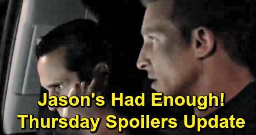 General Hospital Spoilers: Thursday, May 23 Update – Margaux Blamed for Brutal Death – Knife-Wielding Ryan Wants Ava – Jason's Had Enough